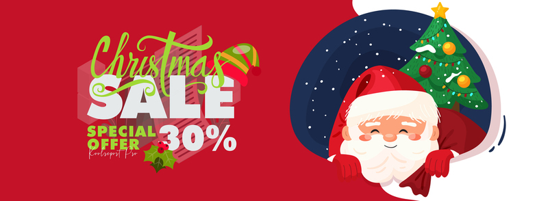 Happy Christmas 30% OFF For KoolReport Pro
